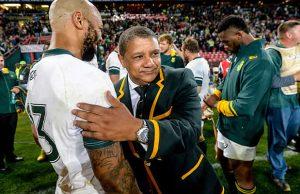 Springbok coach Allister Coetzee