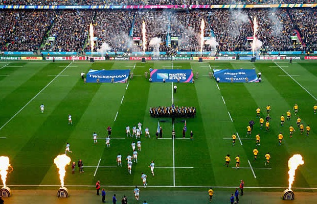 Argentina will play Australia in the Rugby Championship at Twickenham