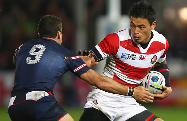 Ayumu Goromaru could be playing Super Rugby in Brisbane soon