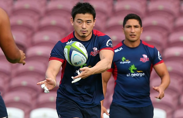 Ayumu Goromaru trains with his new team the Reds