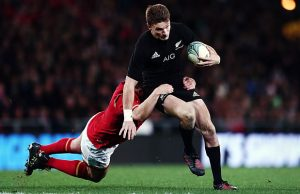 Beauden Barrett scored 22 points for the All Blacks