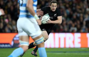 Ben Smith scored two tries for the All Blacks