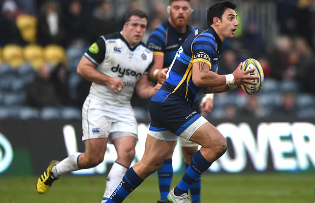 Bryce Heem on the attack for Worcester