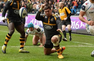Charles Piutau scored the match winning try