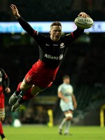Saracens smash Worcester Warriors at Twickenham