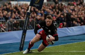 Chris Ashton scored a hat-trick of tries