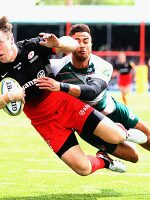 Saracens thump Leicester and book final spot
