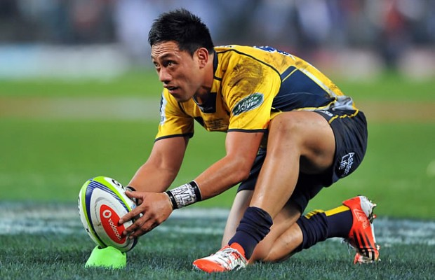 Christian Lealiifano will co-captain the Brumbies in 2016