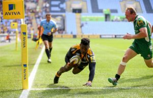 Christian Wade scores try for Wasps