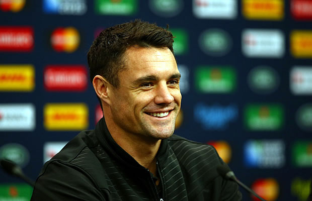 Dan Carter finally gets to play in a Rugby World Cup final
