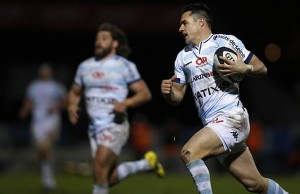 Dan Carter on the run for Racing Metro