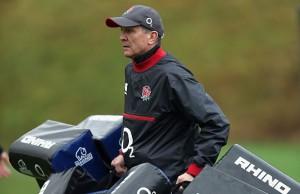 England's kit man Dave Tennison