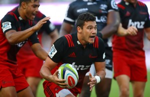 David Havili scored the Crusaders opening Try