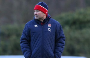 New England coach Eddie Jones has named his first team