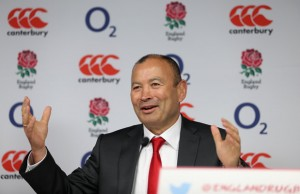 Eddie Jones has called on his players to stand up to the challenge