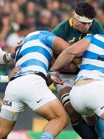 South Africa leave it late against Argentina
