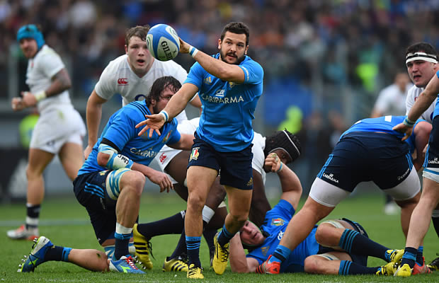 Guglielmo Palazzani starts for Italy against Ireland
