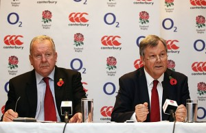 RFU Chairman Bill Beaumont and CEO Ian Ritchie