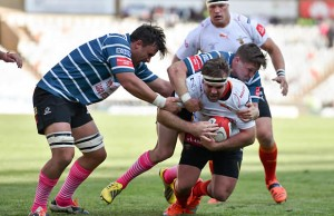 Jacques du Toit in action for the Free State Cheetah