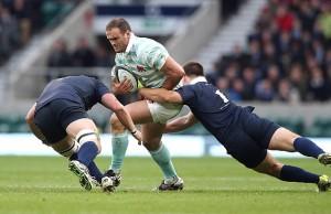 Jamie Roberts was injured playing for Cambridge