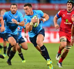 Jesse Kriel on the charge for the Bulls