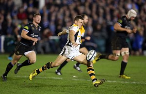 Jimmy Gopperth scored a try, four penalties and three conversions