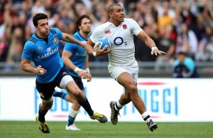 Jonathan Joseph scored three tries for England