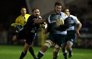 Laurence Pearce will move from Leicester to Sale Sharks