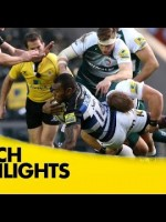 Leicester Tigers Vs Bath – Aviva Premiership 2015/16 | Rugby Video Highlights