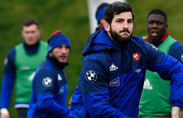 Loann Goujon comes into the France starting line up