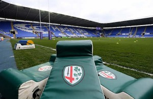 London Irish host Exeter Chiefs at the Madejski Stadium