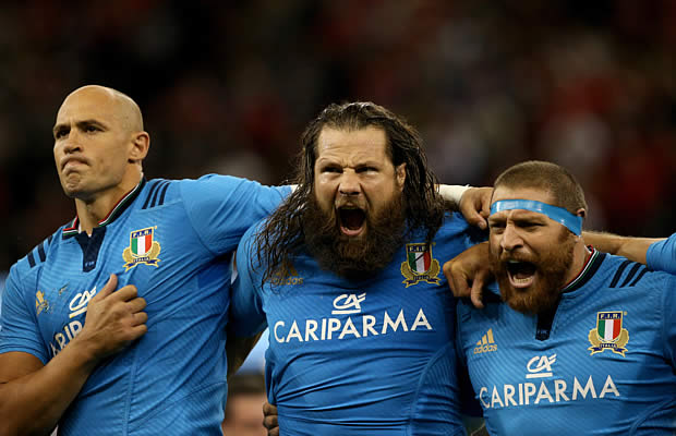 Martin Castrogiovanni will become Italy's most capped player