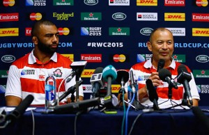 Japan coach Eddie Jones is up for coach of the year