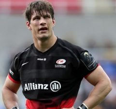 Michael Rhodes will continue to play for Saracens