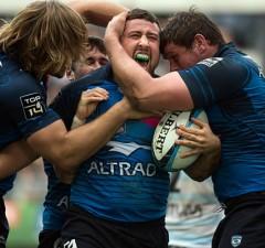 Mickael Ivaldi celebrates victory
