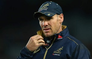 Australia's assistant coach Nathan Grey