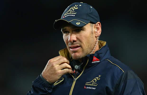 Australia's assistant coach Nathan Grey