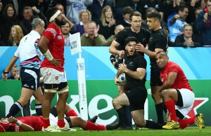 Nehe Milner-Skudder scored a brace of tries for the All Blacks