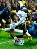 Fiji finish Rugby World Cup with seven try victory