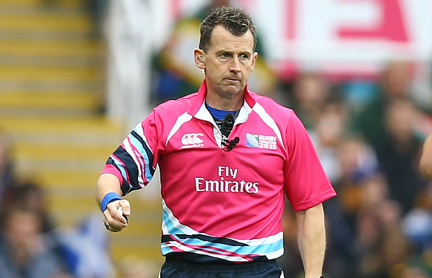 Nigel Owens will break the record for the number of tests refereed
