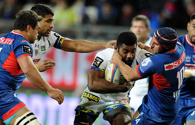 Noa Nakaitaci scored three tries for Clermont