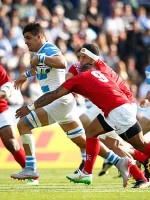 Argentina thump Tonga in Rugby World Cup