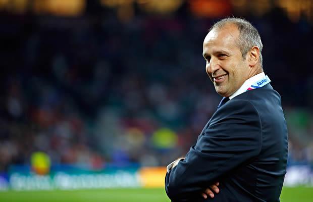 Phillipe Saint-Andre says the pressure is on Ireland