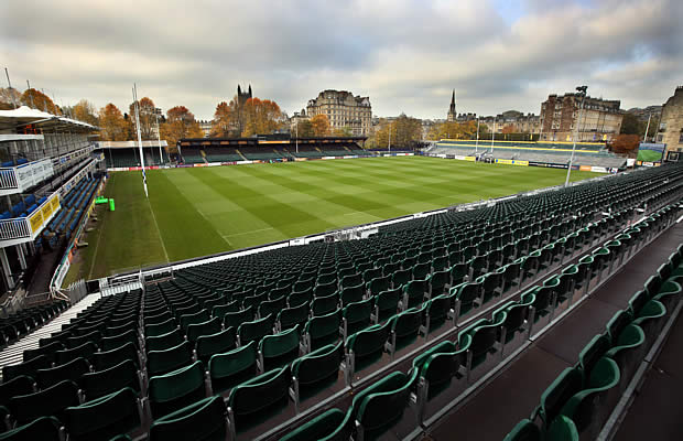 Bath Rugby host Saracens at the Recreation Ground