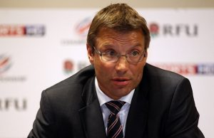 Rob Andrew is leaving the Rugby Football Union