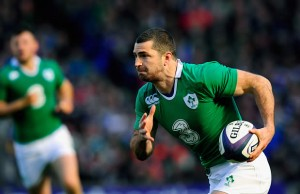 Rob Kearney has replaced Simon Zebo at fullback
