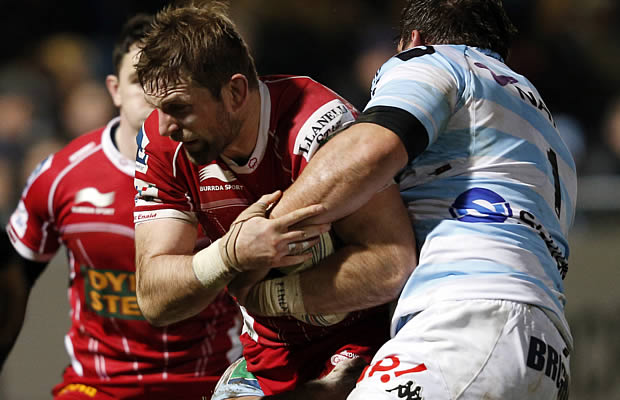 Rob McCusker will join London Irish from the Scarlets