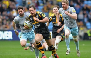 Rob Miller scored two tries for Wasps