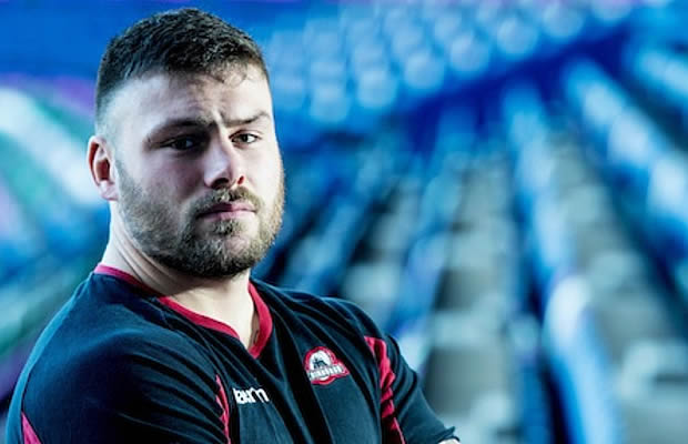 Edinburgh Rugby prop Rory Sutherland
