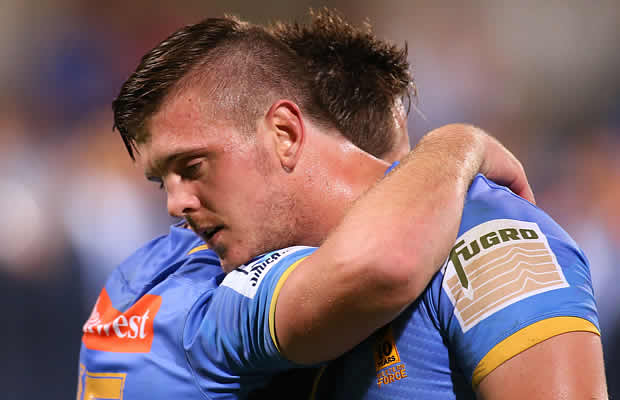 Ross Haylett-Petty is staying in Perth with the Western Force